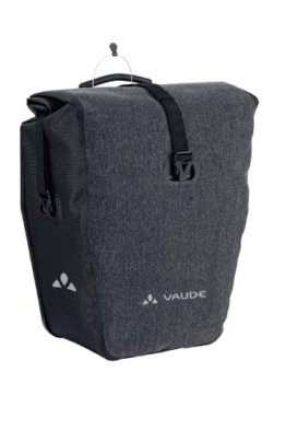 VAUDE Unisex Radtasche Aqua Deluxe Single, black, 37 x 33 x 19 cm, 24 liters, 11625 -