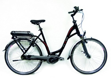 E-Bike Flyer B8.1 schwarz 11Ah BOSCH-Motor Magura HS 33 Nabendynamo 60 XL, Rahmengrößen Flyer:xl 60 cm Körpergröße 190-200 -