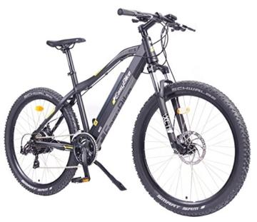 EASYBIKE E-Bike Elektofahrrad MI5-650 27,5 Zoll Bereifung 13Ah 396Wh E-Mountainbike SCHWARZ Modell 2016 -