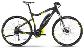 HAIBIKE Sduro Cross 4.0 Herren schwarz/lime matt Rahmengröße 60 cm 2017 E-Crossbike -