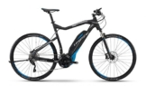 HAIBIKE Sduro Cross RC Herren schwarz/cyan/grau matt Rahmengröße 48 cm 2016 E-Crossbike -