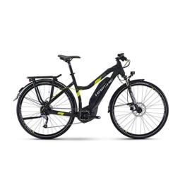 Haibike SDURO Trekking 4.0 Damen 400Wh Yamaha E-Bike Pedelec Fahrrad 2017, Farbe:Schwarz Matt;Rahmenhöhe:52 cm -