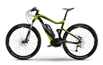 Haibike XDURO FullSeven RX 27.5 Mountain eBike 2015 (Schwarz/Grün, 50cm) -