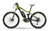 Haibike XDURO FullSeven RX 27.5 Schwarz/Lime, 45cm -