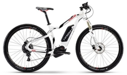 Haibike XDURO HardNine 5.0 500Wh 11-G NX 45cm white-black-red -