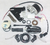 24V 250W elektrische Fahrrad Umwandlungs-KIT E-BIKE KIT ELECTRIC SCOOTER FAHRRAD GNG ELEKTROMOTOR (SIDE-mounted) ... -