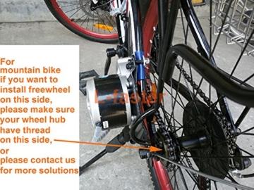 24V 250W elektrische Fahrrad Umwandlungs-KIT E-BIKE KIT ELECTRIC SCOOTER FAHRRAD GNG ELEKTROMOTOR (SIDE-mounted) ... -