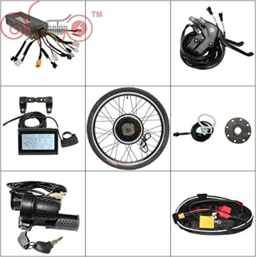 E-bike Kits 36V 1200W 48V 1500W comes with everything convert bike to Electric bike except battery -