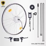 """E-Bike,Pedelec,Elektrofahrrad Conversion Kit, 36V 250W, 26"""" Zoll,Umbausatz mit MXUS Frontmotor,LCD Display, für Scheibenbremsaufnahme geeignet, mit Sinus wave Controller und Daumengashebel -"""