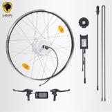 """E-Bike,Pedelec,Elektrofahrrad Conversion Kit, 36V 350W,28"""" Zoll 700C"""",Umbausatz mit Heckmotor,LCD Display, für Schraubkranz,Scheibenbremsaufnahme geeignet,bis 35 km/h, mit Sinus wave Controller -"""