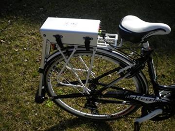 Flying Bike's Tail. Umrüstkit Fahrrad Pedalec E-Bike, geeignet für alle Fahrräder und traditionelle Fahrräder. Benötigt keine Installation. BikesTail.com -