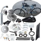 "Iglobalbuy 26 ""28"" 48CC 49CC 50CC 2-Takt Motor Motor Kit für Motorisierte Fahrrad Silber Motor -"