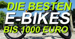 e-bike bis 1000 euro