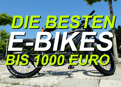 e bikes bis unter 1000 euro im vergleich. Black Bedroom Furniture Sets. Home Design Ideas