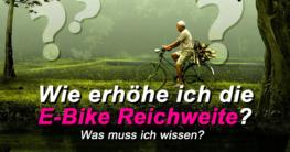 E Bike Reichweite