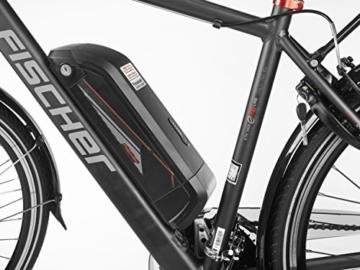 FISCHER E-Bike TREKKING Herren ETH 1606, 28 Zoll, Heckmotor 504 Wh, Shimano 24-Gang-Schaltung -