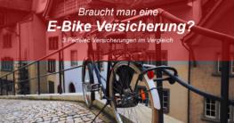 E-Bike Versicherung Test / Vergleich