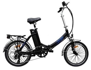 Ein Paar (2 Stk.) 20 Zoll SWEMO Alu Klapp E-Bike / Pedelec SW100 & SW200 Neu (Schwarz) - 3