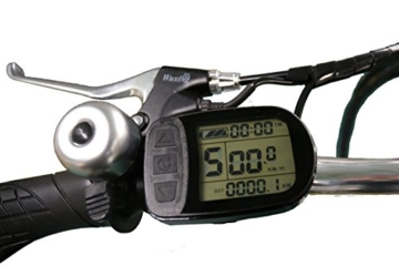 Ein Paar (2 Stk.) 20 Zoll SWEMO Alu Klapp E-Bike / Pedelec SW100 & SW200 Neu (Schwarz) - 4