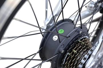Ein Paar (2 Stk.) 20 Zoll SWEMO Alu Klapp E-Bike / Pedelec SW100 & SW200 Neu (Schwarz) - 7