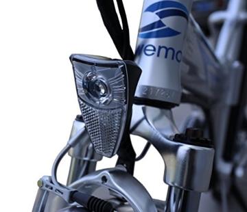 Ein Paar (2 Stk.) 20 Zoll SWEMO Alu Klapp E-Bike / Pedelec SW100 & SW200 Neu (Schwarz) - 8
