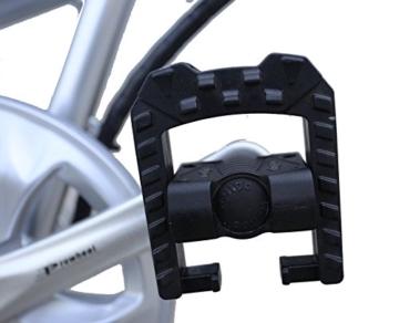 Ein Paar (2 Stk.) 20 Zoll SWEMO Alu Klapp E-Bike / Pedelec SW100 & SW200 Neu (Schwarz) - 9